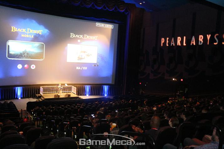 'E3 2019' 기간에 LA에서 개최된 '인투 디 어비스' 행사 (사진: 게임메카 촬영)