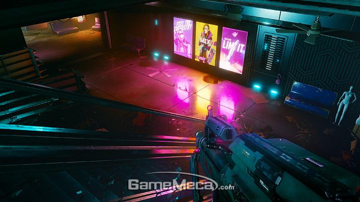 레이 트레이싱으로 강화된 도시 조명 (사진출처: 게임 공식 웹페이지)