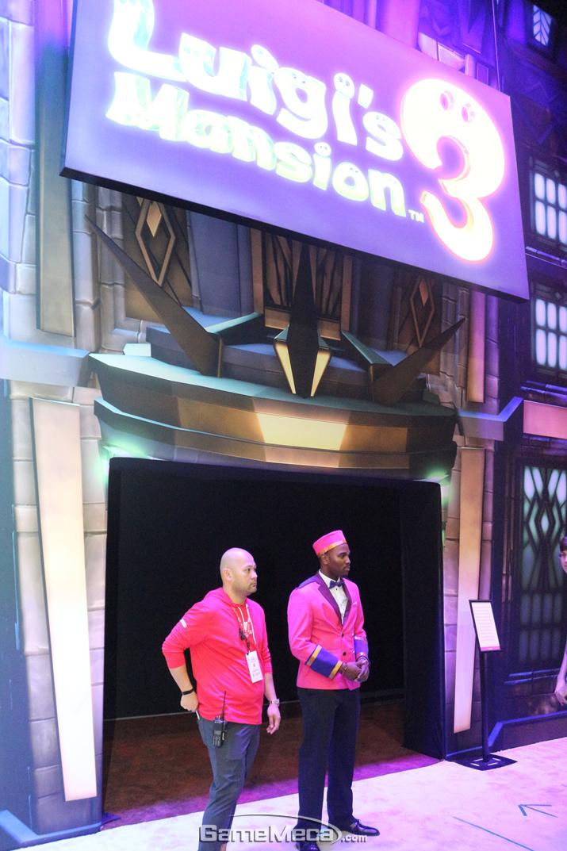 '루이지 맨션 3' 부스는 비공개 세션으로 진행됐다 (사진: 게임메카 촬영)