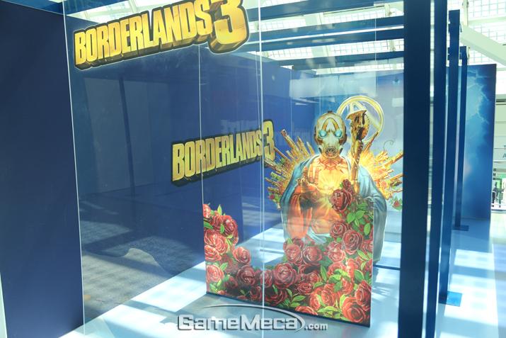 '보더랜드 3' 입체 사진판 (사진: 게임메카 촬영)