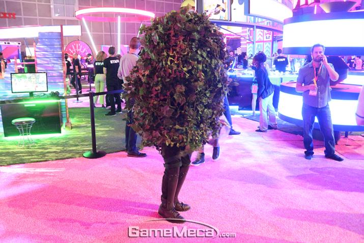 우왁!!! 걸어다니는 낙엽이다!!! (사진: 슬라임 촬영)