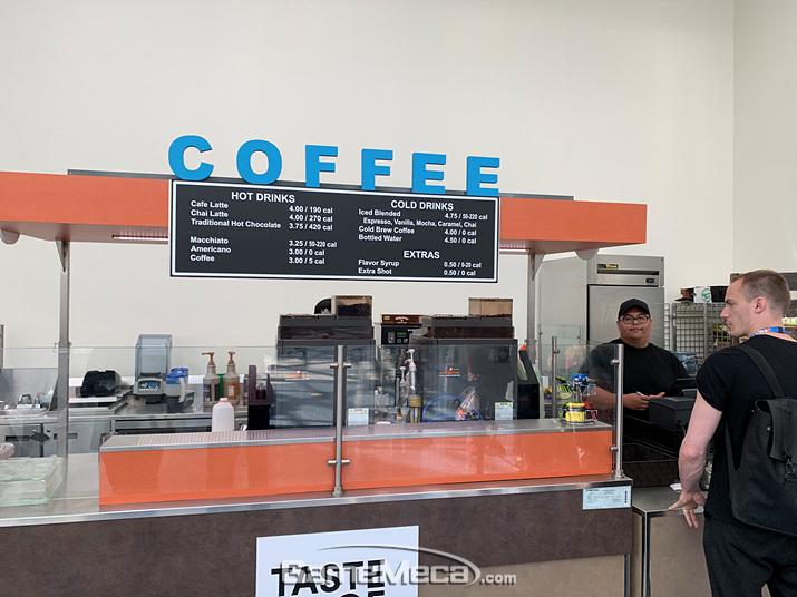 왠지 밥을 먹고 나면 커피 한 잔 마시고 싶죠 (사진: 게임메카 촬영)