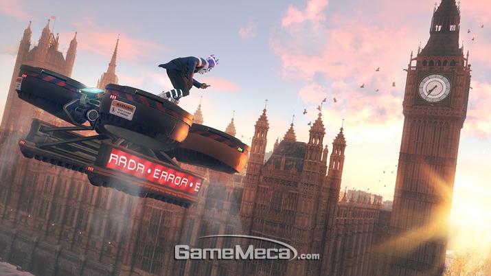 '와치독: 리전'을 두고 영국인들 사이에서 갑론을박이 벌어지고 있다 (사진출처: 게임 공식 홈페이지)