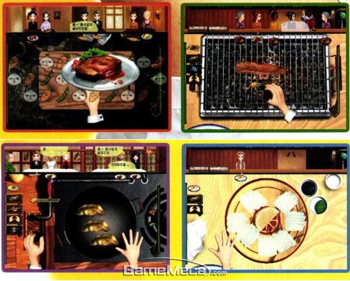 국산 게임답게 한국에서 볼 수 있는 요리들이 나온다 (사진출처: 게임메카 DB)