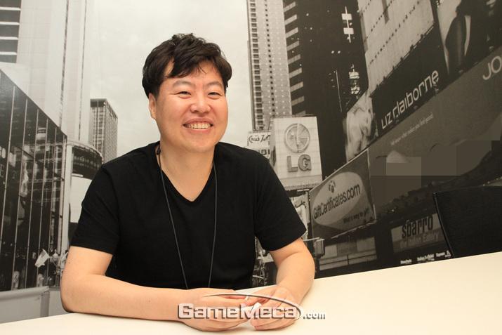 '서머너즈 워' 김태형 개발팀장을 만나봤다 (사진: 게임메카 촬영)