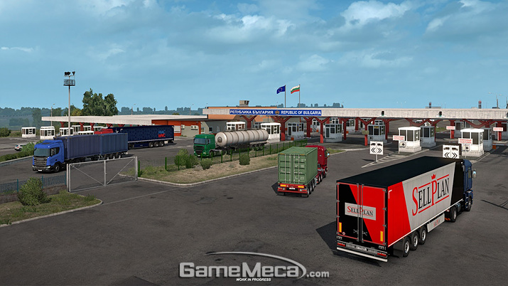 '유로 트럭 시뮬레이터 2: 흑해로 가는 길' 스크린샷 (사진출처: SCS 소프트웨어 공식 블로그)