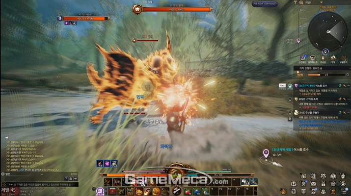 평범한 집중 사격도 유물을 이용하면 범위 공격으로 만들 수 있다 (사진: 게임메카 촬영)