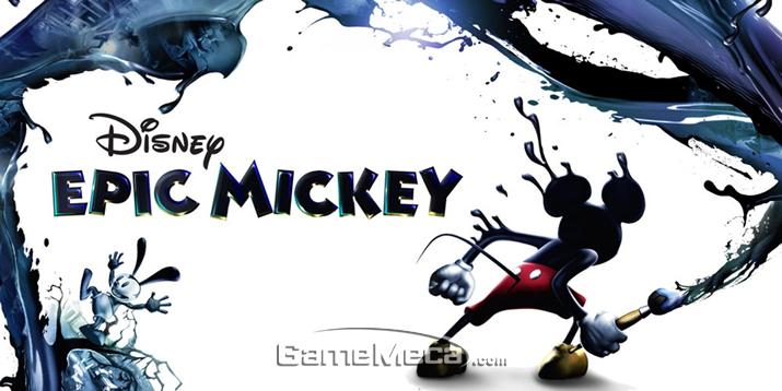 전체이용가 게임이라고 보기엔 사실 무리가 있는 '에픽 미키' (사진출처: 게임 공식 홈페이지)