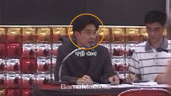 KIGL 2000 하계리그 결선대회 현장에서 촬영한 정일훈 캐스터 (사진촬영: 게임메카)