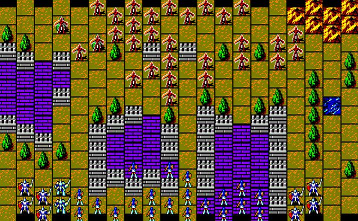 '랑그릿사'의 뿌리라 할 수 있는 게임 '엘스리드' (사진출처: Generation MSX)