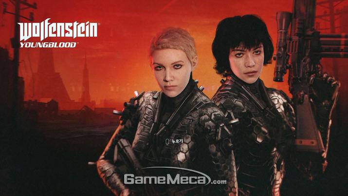 '울펜슈타인 영블러드' 대기 화면 (사진: 게임메카 촬영)