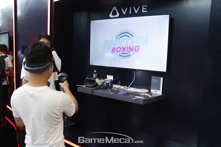 바이브를 위주로 한 VR부터 (사진: 게임메카 촬영)