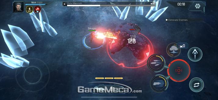 타이탄이 저렇게 근접 공격을 애용하는 보스를 만나면 순삭이다 (사진: 게임메카 촬영)