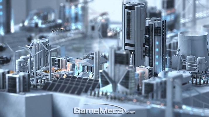 절벽에서 도시를 건설하는 '클리프 엠파이어' 스크린샷 (사진출처: 스팀 공식 페이지)