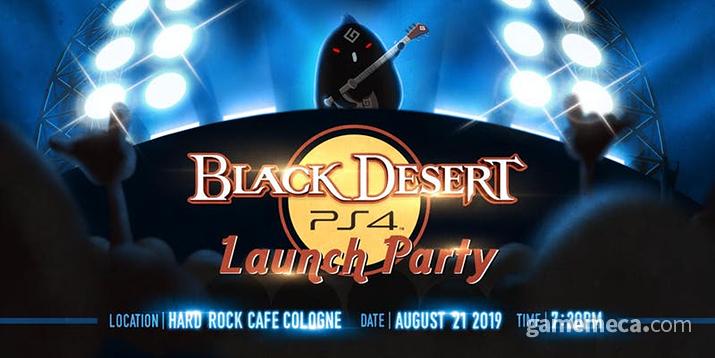 독일에서 열리는 '검은사막' PS4 론칭파티 (사진제공: 펄어비스)