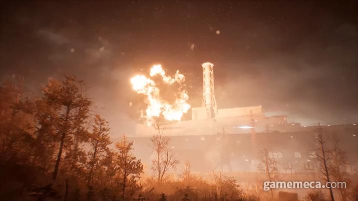 폭발하는 발전소를 그린 '체르노빌라이트' (사진출처: 트레일러 영상 갈무리)