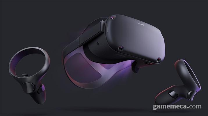 독립형 VR HMD '오큘러스 퀘스트' (사진출처: 제품 공식 웹페이지)