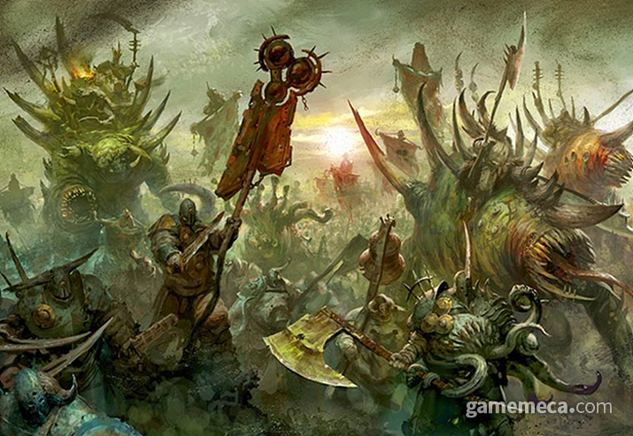 이미 악의 손에 세상이 파괴되는 걸로 결말이 났다 (사진출처:게임즈 워크샵 공식 홈페이지)