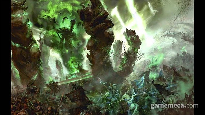 '워해머 판타지' 세계관을 끝장낸 '엔드타임' (사진출처: 게임즈 워크샵 공식 홈페이지)