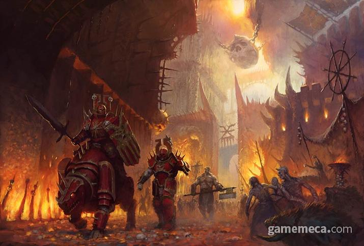 혼돈의 군세가 정복한 '모탈렐름'의 세계 중 하나 (사진출처: 게임즈 워크샵 공식 홈페이지)