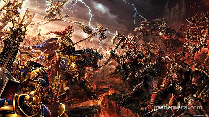 '모탈렐름'을 수복하기 위해 파견된 '스톰캐스트 이터널' (사진출처: 게임즈 워크샵 공식 홈페이지)