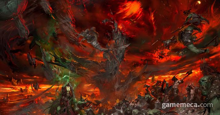 '올드 월드' 멸망이라는 결말에 불만을 가진 팬들이 많다 (사진출처: 게임즈 워크샵 공식 홈페이지)