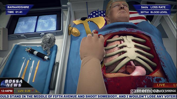 트럼프 대통령도 안심하고 몸을 맡기는 자랑스런 의무병 (사진출처: 스팀)
