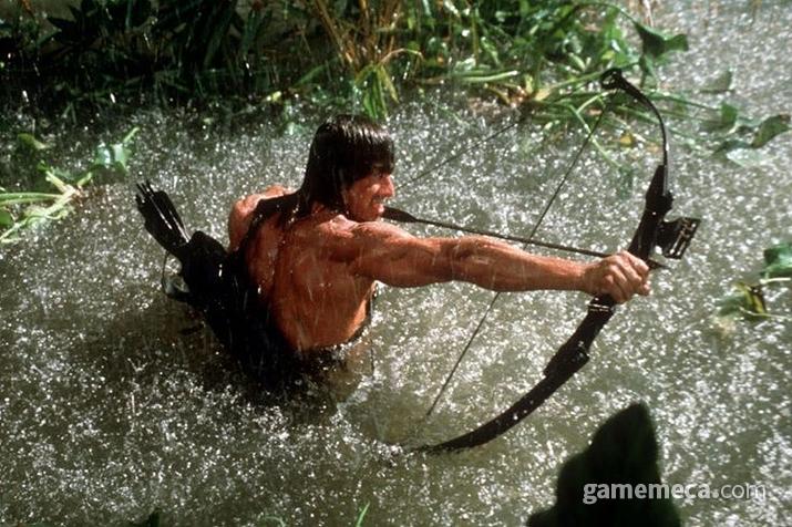 그러니까, 영화 '람보'의 이 장면이 고증에 충실한 것이다 (사진출처: digitalspy.com)