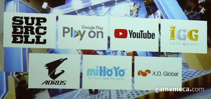 '지스타 2019' 중급 규모 이상 부스 출전하는 해외업체 (사진: 게임메카 촬영)