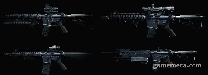 '콜 오브 듀티: 모던 워페어'의 총기 커스텀 시스템 (사진출처: 콜 오브 듀티 공식 유튜브 채널 갈무리)