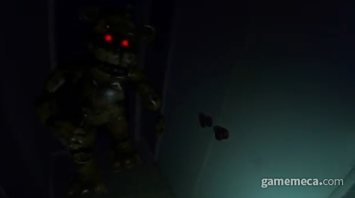 프레디의 피자가게 AR (사진출처: 트레일러 영상 갈무리)