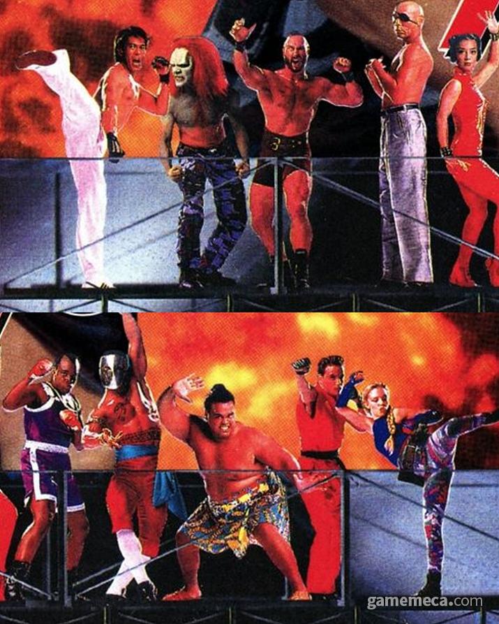영화에 등장하는 '슈퍼 스트리트 파이터 2' 캐릭터들 (사진출처: 게임메카 DB)