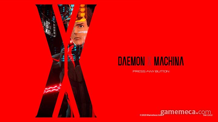 '데몬 엑스 마키나' 대기 화면 (사진: 게임메카 촬영)
