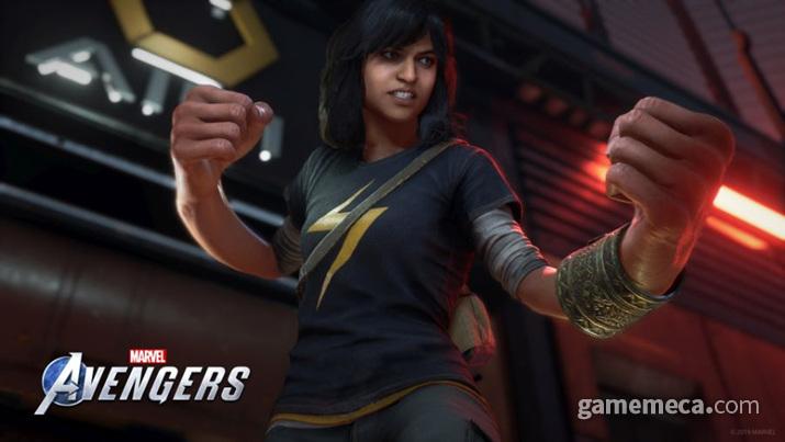 '어벤져스' 새로운 영웅 카밀라 칸이 공개됐다 (사진출처: 게임 공식 홈페이지)