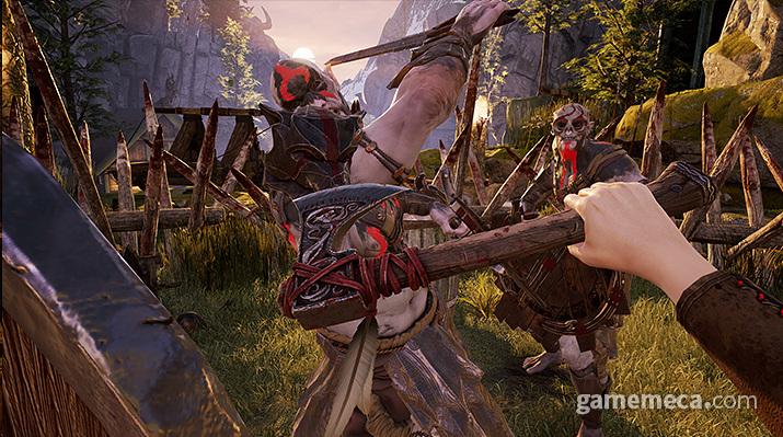 '아스가르드 래쓰' 패링 (사진출처: 게임 공식 웹사이트)