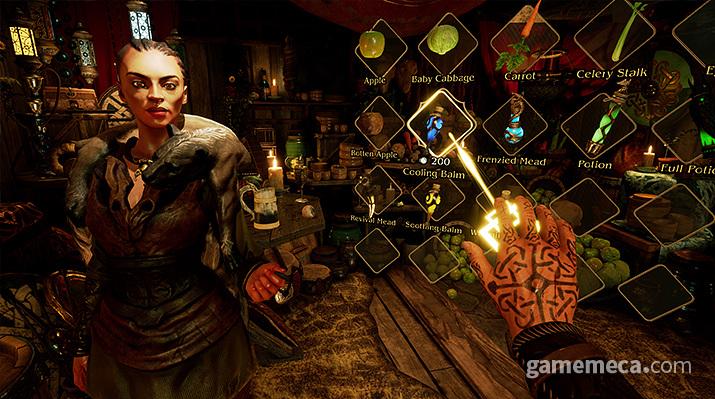 '아스가르드 래쓰' 인벤토리 (사진출처: 게임 공식 웹사이트)