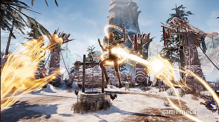 '아스가르드 래쓰' 마법 (사진출처: 게임 공식 웹사이트)