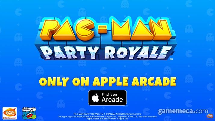애플 아케이드에 출시된 팩맨 파티 로얄 (사진출처: 게임 공식 트레일러 갈무리)