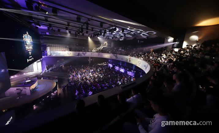 1,500명의 관중이 모였던 'SWC 2019' 현장 (사진제공: 컴투스)