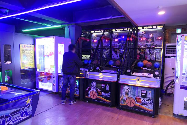 차이나타운 내에서 가장 다양한 게임 라인업이 갖춰져 있다