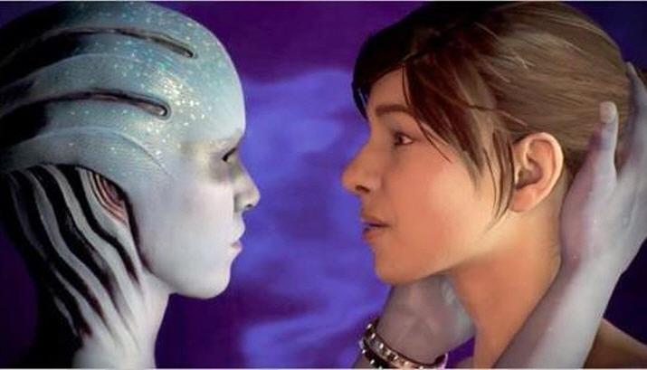 성별과 종족 간 모든 제약을 뛰어넘은 사랑이 가능한 매스 이펙트 시리즈 (사진출처: n4g.com)