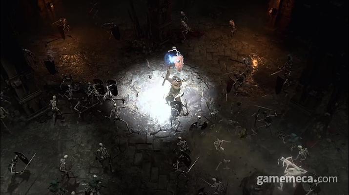 디아블로 4 게임 화면 (사진출처: 블리즈컨 2019 생중계 갈무리)