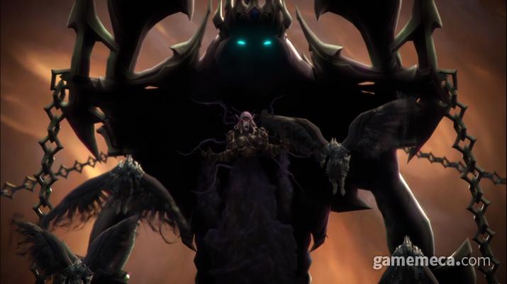 '월드 오브 워크래프트: 어둠땅' 스크린샷 (사진출처: 블리즈컨 2019 생방송 갈무리)