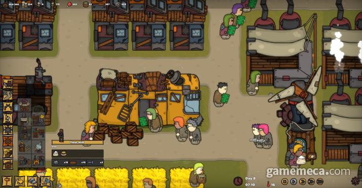 '엔드Z 빌리지' 스크린샷 (사진출처: 게임 공식 스팀 홈페이지)