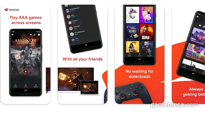 Stadia launches full service (Photo source: Google Play)