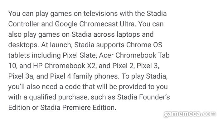 크롬 OS 기반 태블릿PC, 구글 픽셀 스마트폰만 사용 가능하다 (사진: 게임메카 촬영)