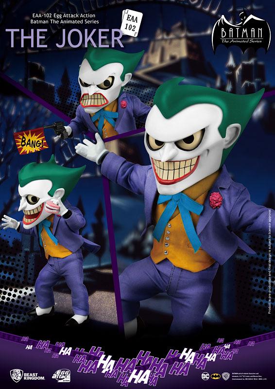 1992년부터 1995년까지 방영된 배트맨 애니메이션에 등장한 SD 조커. 기존 무서운 이미지와는 사뭇 다른 악동 느낌이다 (사진출처: 아마존)