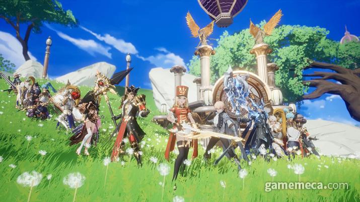 새롭게 리뉴얼된 캐릭터들을 보라 (사진: 게임메카 촬영)
