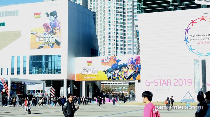 지스타 2019 행사가 막을 올렸다 (사진: 게임메카 촬영)