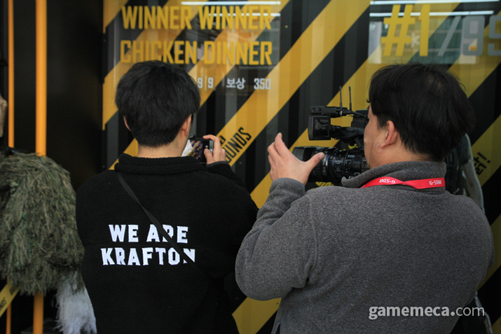 사진은 직원이 찍어주신다 (사진: 게임메카 촬영)